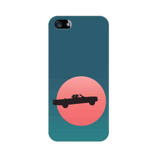 Apple iPhone SE Thelma & Louise Movie Minimal Phone Cover & Case