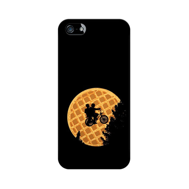 Apple iPhone SE Stranger Things Pancake Minimal Phone Cover & Case