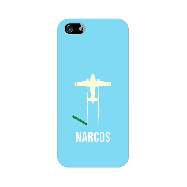 Apple iPhone SE Narcos TV Series  Minimal Fan Art Phone Cover & Case