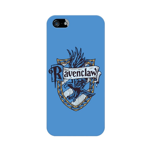 Apple iPhone SE Ravenclaw House Crest Harry Potter Phone Cover & Case