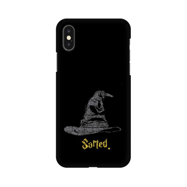 Apple iPhone X Sorting Hat Harry Potter Phone Cover & Case