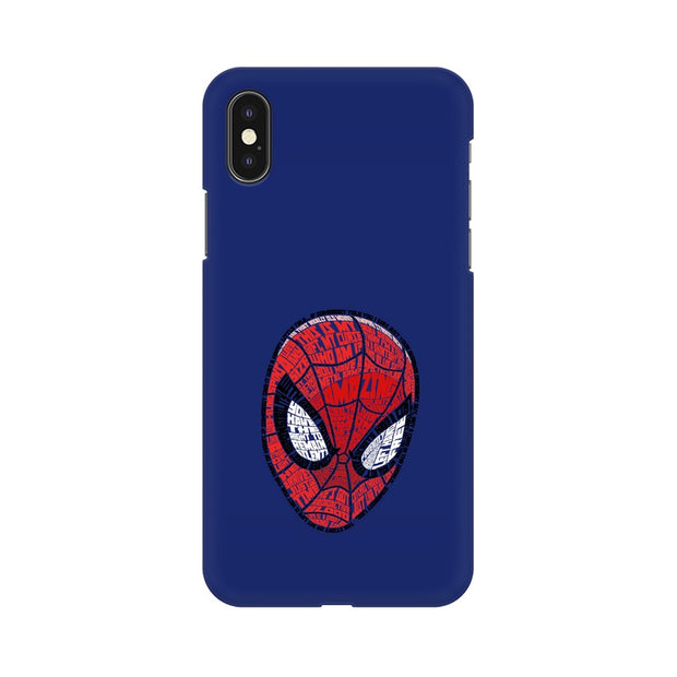 Apple iPhone X Spider Man Graphic Fan Art Phone Cover & Case