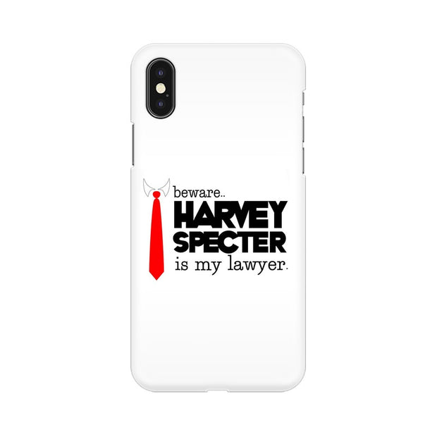 Apple iPhone X Harvey Spectre Is My Lawyer Suits Phone Cover & Case