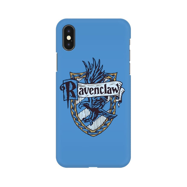 Apple iPhone X Ravenclaw House Crest Harry Potter Phone Cover & Case