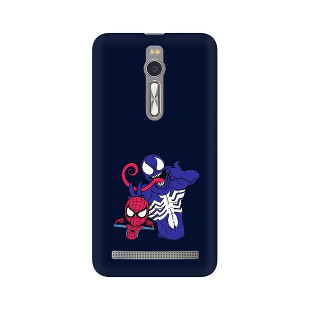 Asus Zenfone 2 Spider Man & Venom Funny Phone Cover & Case