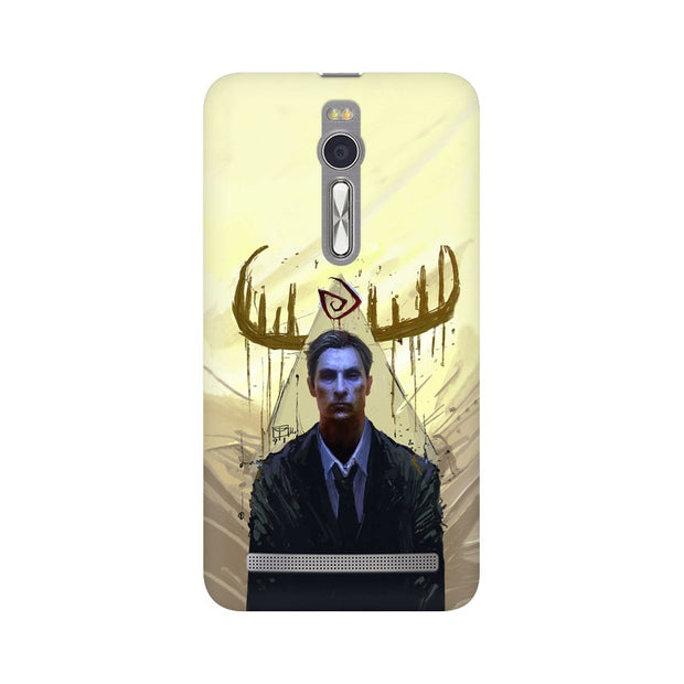 Asus Zenfone 2 True Detective Rustin Fan Art Phone Cover & Case
