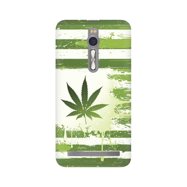 Asus Zenfone 2 Weed Flag  Phone Cover & Case