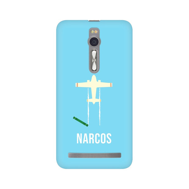 Asus Zenfone 2 Narcos TV Series  Minimal Fan Art Phone Cover & Case