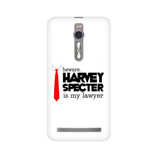 Asus Zenfone 2 Harvey Spectre Is My Lawyer Suits Phone Cover & Case