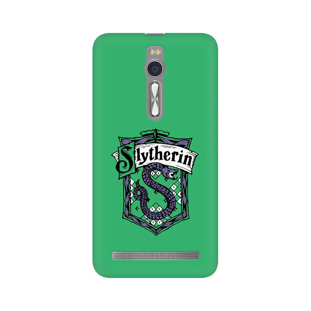 Asus Zenfone 2 Slytherin House Crest Harry Potter Phone Cover & Case