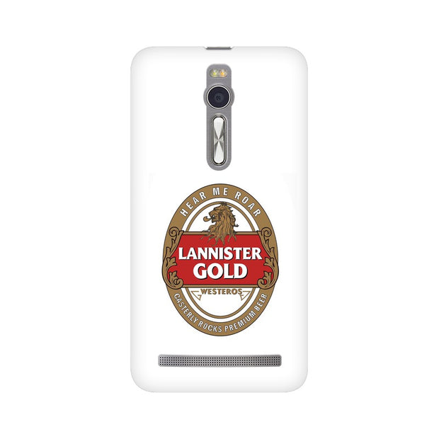 Asus Zenfone 2 Lannister Gold Game Of Thrones Cool Phone Cover & Case