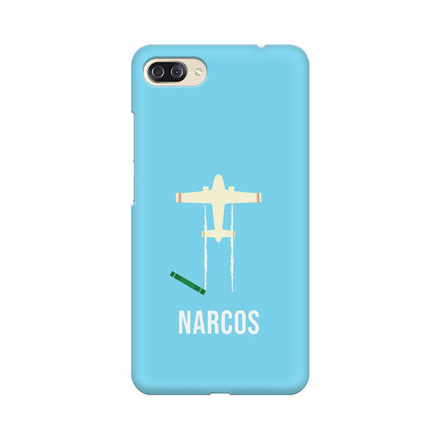 Asus Zenfone 4 Max ZC554KL Narcos TV Series  Minimal Fan Art Phone Cover & Case