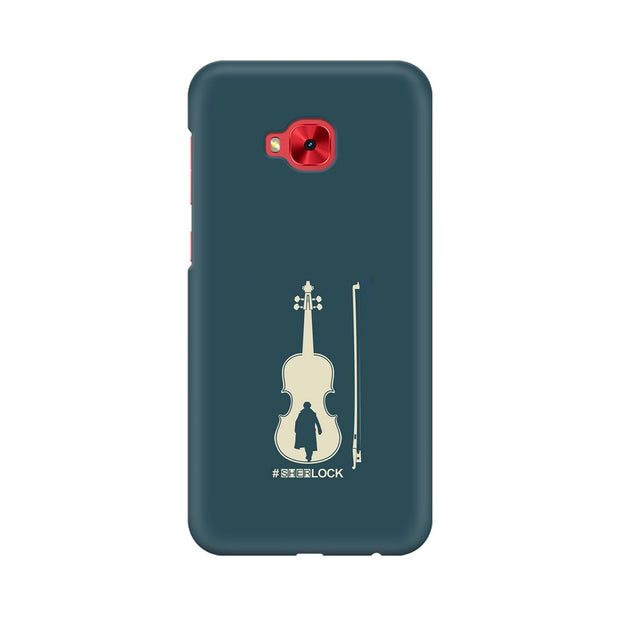 Asus Zenfone 4 Selfie Pro ZD552KL Sherlock Violin Fan Art Phone Cover & Case