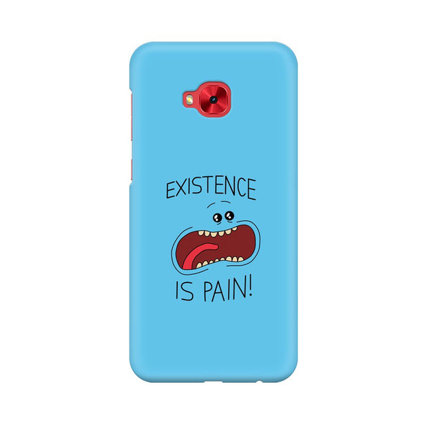 Asus Zenfone 4 Selfie Pro ZD552KL Existence Is Pain Mr Meeseeks Rick & Morty Phone Cover & Case