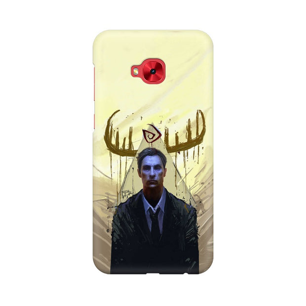 Asus Zenfone 4 Selfie Pro ZD552KL True Detective Rustin Fan Art Phone Cover & Case
