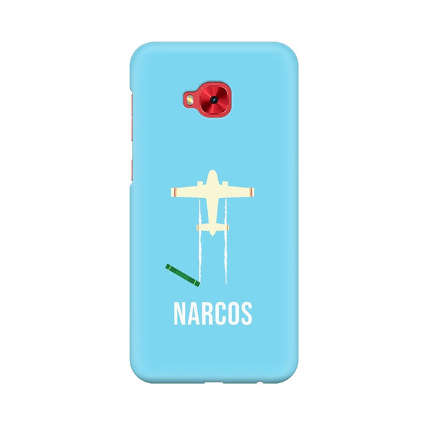 Asus Zenfone 4 Selfie Pro ZD552KL Narcos TV Series  Minimal Fan Art Phone Cover & Case
