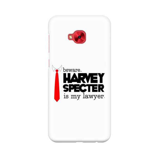 Asus Zenfone 4 Selfie Pro ZD552KL Harvey Spectre Is My Lawyer Suits Phone Cover & Case