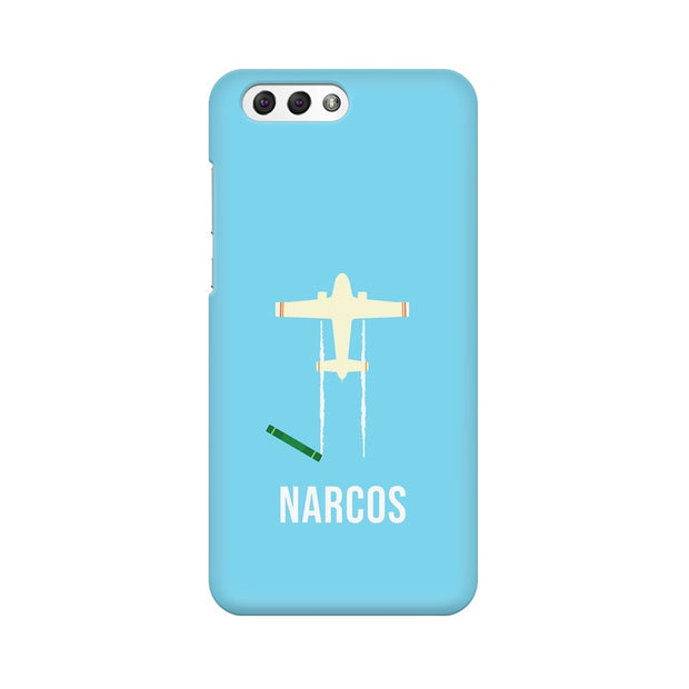 Asus Zenfone 4 ZE554KL Narcos TV Series  Minimal Fan Art Phone Cover & Case