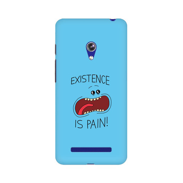Asus Zenfone 5 Existence Is Pain Mr Meeseeks Rick & Morty Phone Cover & Case