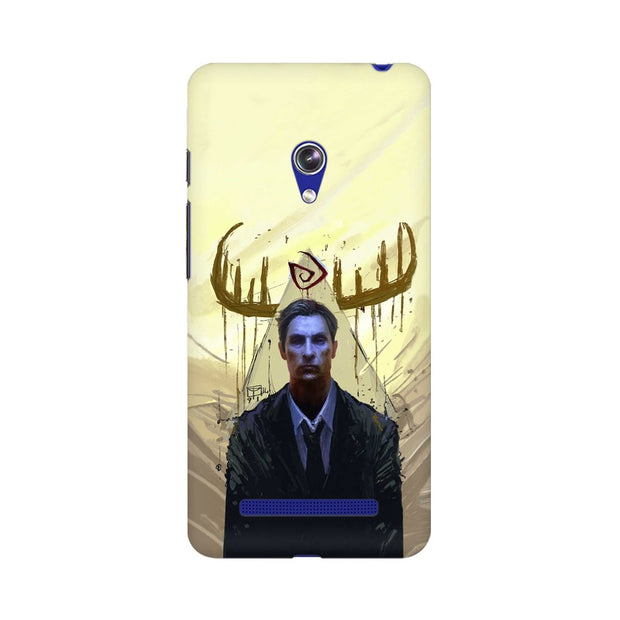 Asus Zenfone 5 True Detective Rustin Fan Art Phone Cover & Case