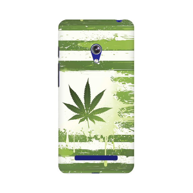 Asus Zenfone 5 Weed Flag  Phone Cover & Case