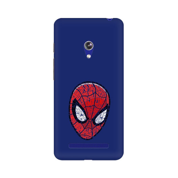 Asus Zenfone 5 Spider Man Graphic Fan Art Phone Cover & Case