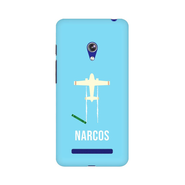 Asus Zenfone 5 Narcos TV Series  Minimal Fan Art Phone Cover & Case