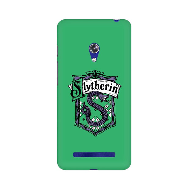 Asus Zenfone 5 Slytherin House Crest Harry Potter Phone Cover & Case