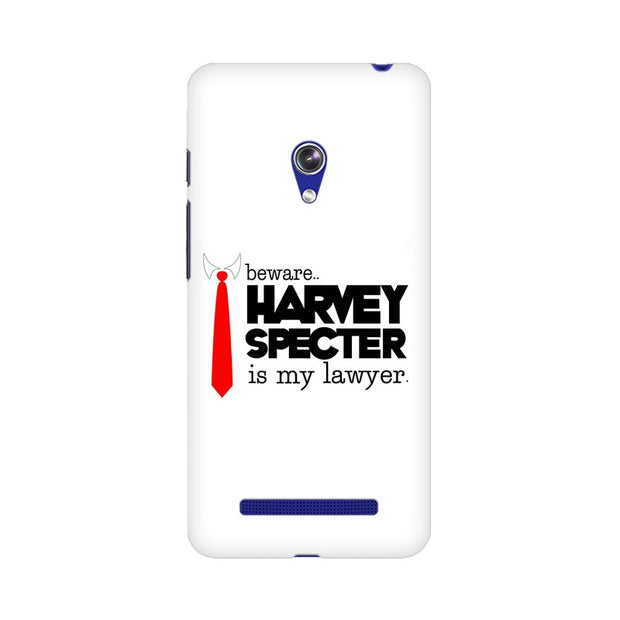 Asus Zenfone 5 Harvey Spectre Is My Lawyer Suits Phone Cover & Case
