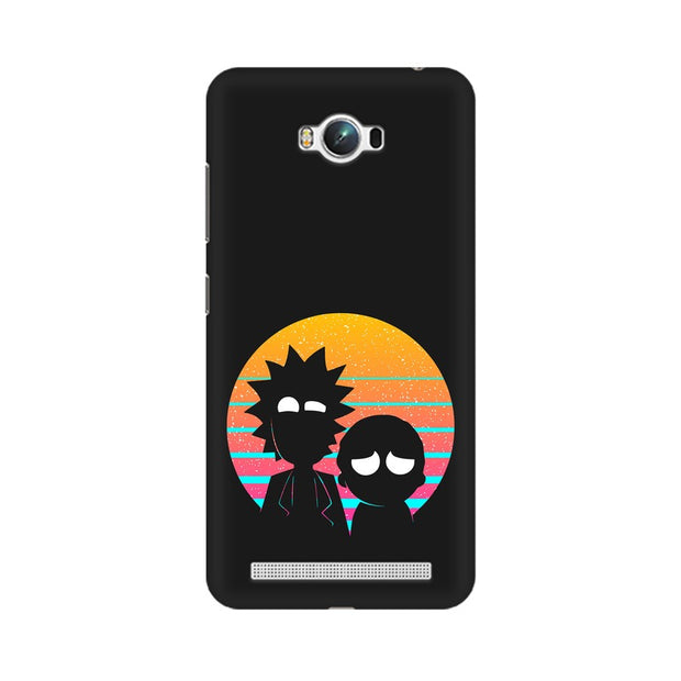 Asus Zenfone Max Rick & Morty Outline Minimal Phone Cover & Case