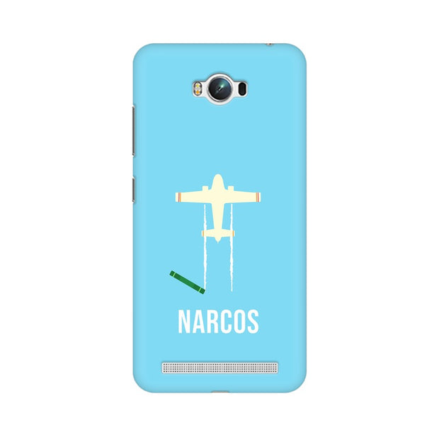 Asus Zenfone Max Narcos TV Series  Minimal Fan Art Phone Cover & Case