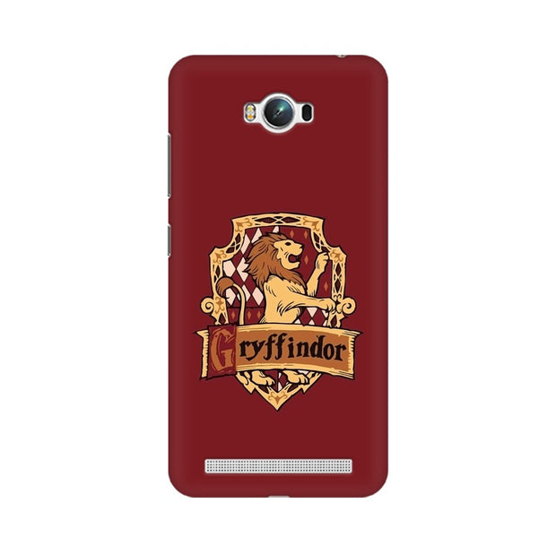 Asus Zenfone Max Gryffindor House Crest Harry Potter Phone Cover & Case
