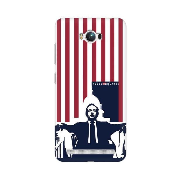 Asus Zenfone Max House Of Cards Underwood On Chair Phone Cover & Case