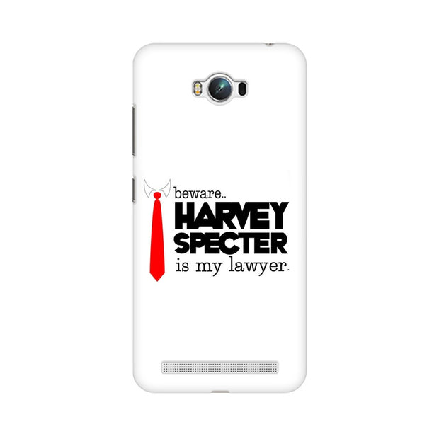 Asus Zenfone Max Harvey Spectre Is My Lawyer Suits Phone Cover & Case