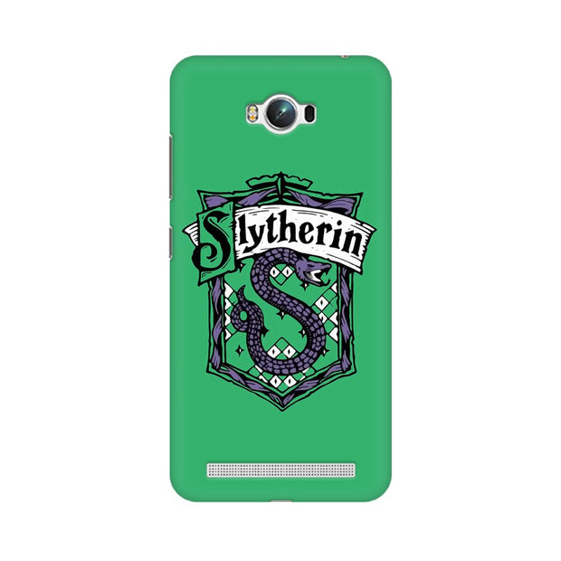 Asus Zenfone Max Slytherin House Crest Harry Potter Phone Cover & Case