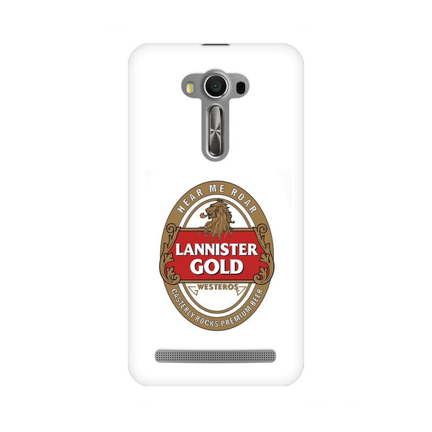 Asus Zenfone Selfie Lannister Gold Game Of Thrones Cool Phone Cover & Case
