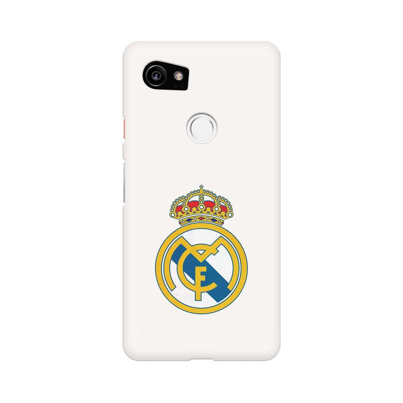 Google Pixel Xl 2 The Real Madrid Crest Phone Cover Case Getart