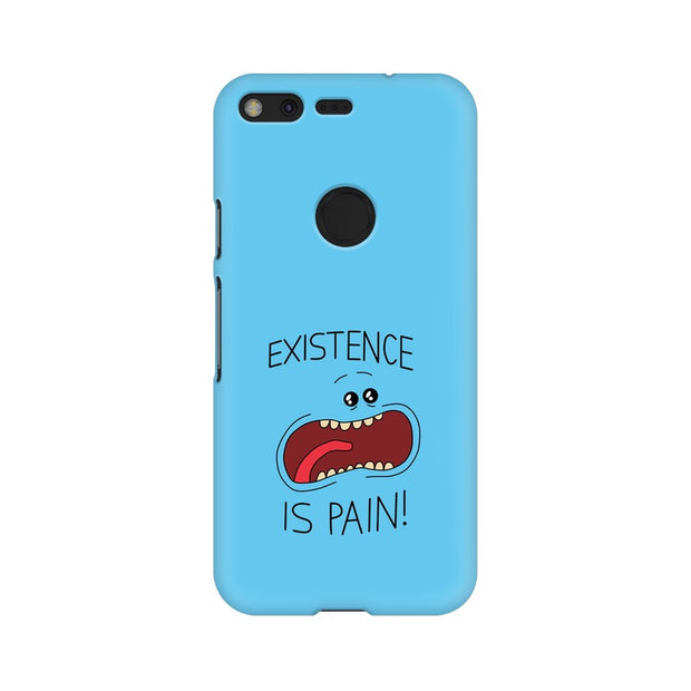 Google Pixel Existence Is Pain Mr Meeseeks Rick & Morty Phone Cover & Case