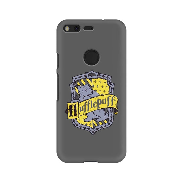 Google Pixel Hufflepuff House Crest Harry Potter Phone Cover & Case