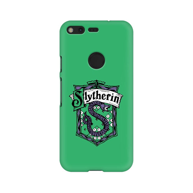 Google Pixel Slytherin House Crest Harry Potter Phone Cover & Case