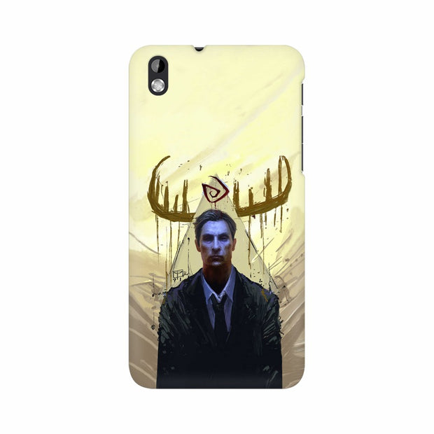HTC Desire 816 True Detective Rustin Fan Art Phone Cover & Case
