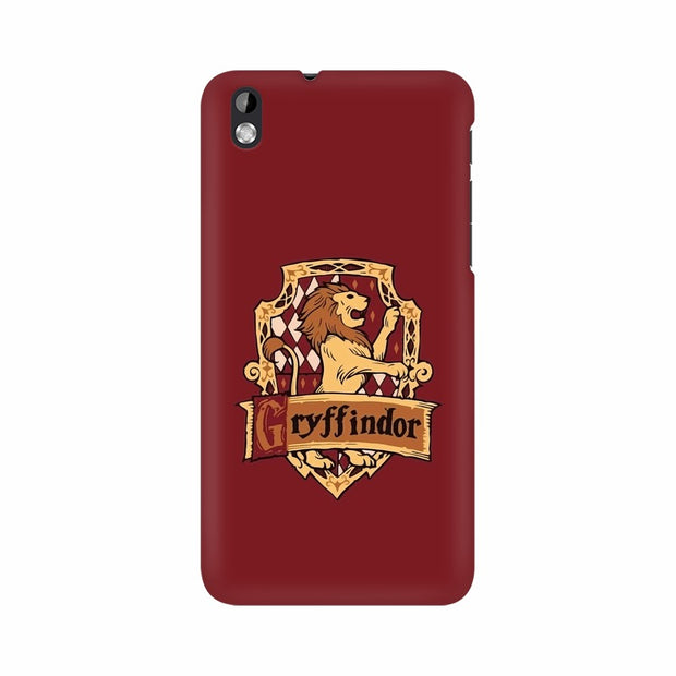 HTC Desire 816 Gryffindor House Crest Harry Potter Phone Cover & Case