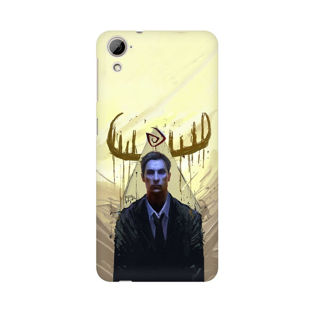 HTC Desire 820 True Detective Rustin Fan Art Phone Cover & Case