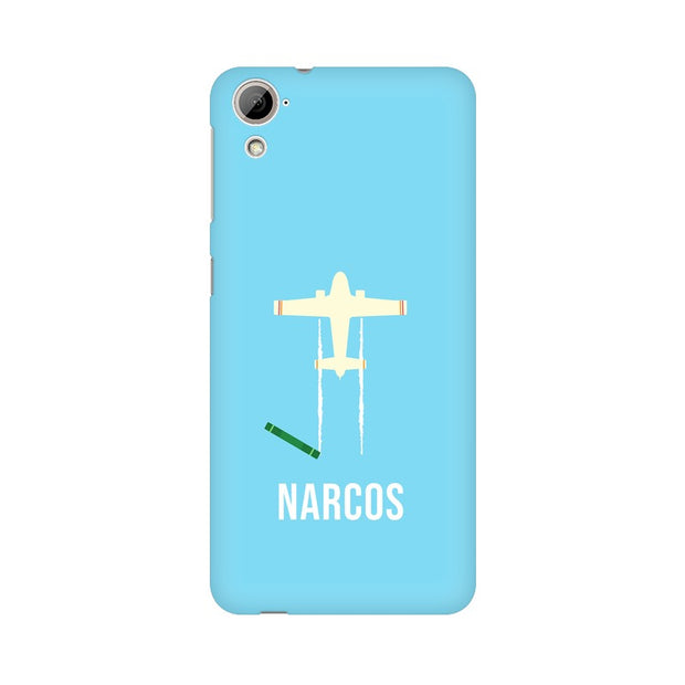 HTC Desire 820 Narcos TV Series  Minimal Fan Art Phone Cover & Case