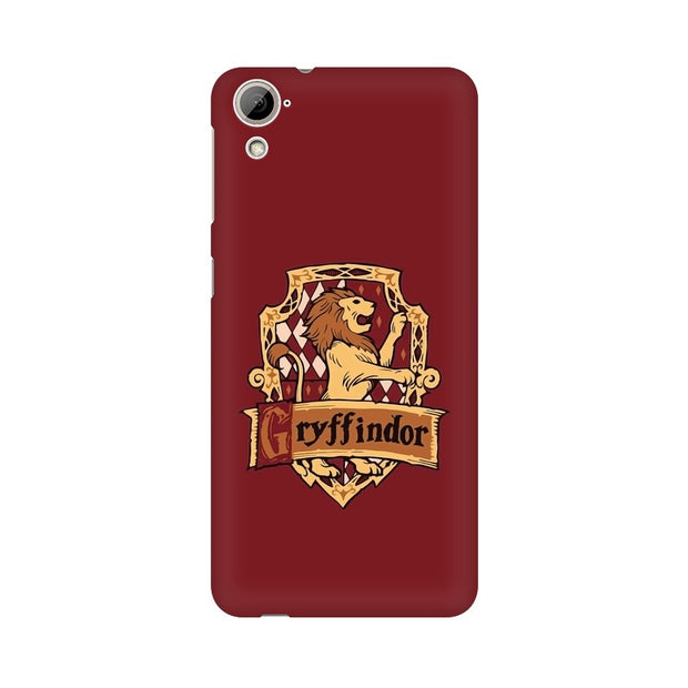 HTC Desire 820 Gryffindor House Crest Harry Potter Phone Cover & Case