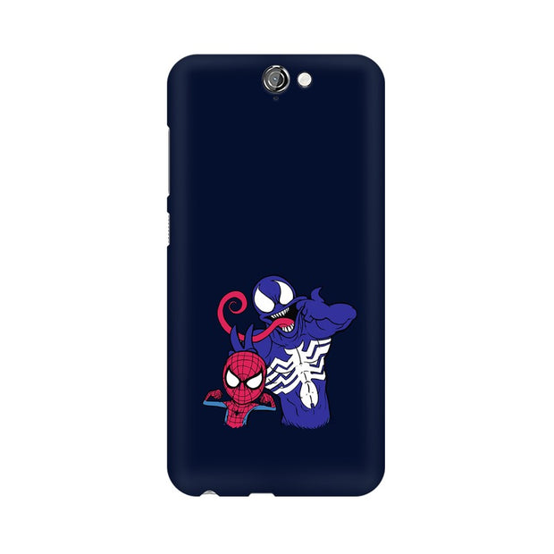 HTC One A9 Spider Man & Venom Funny Phone Cover & Case