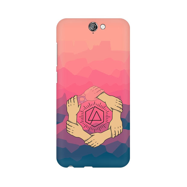 HTC One A9 Linkin Park Logo Chester Tribute Phone Cover & Case