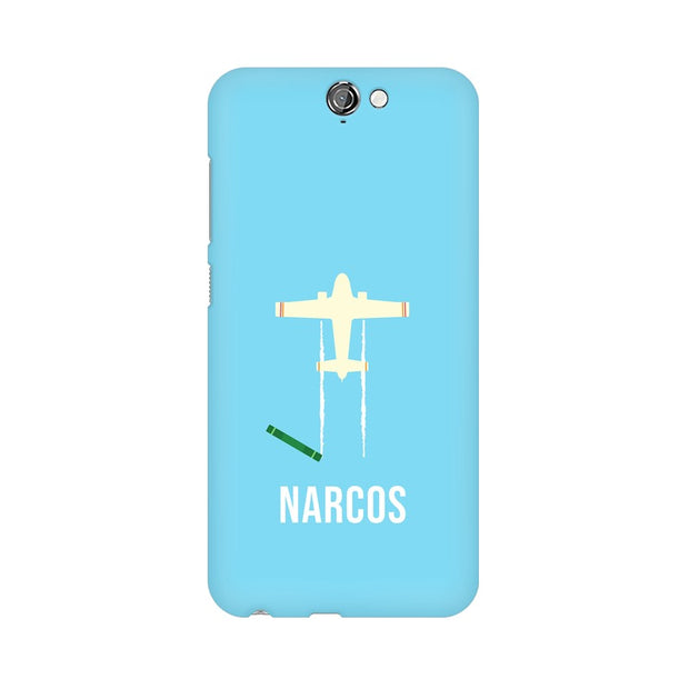 HTC One A9 Narcos TV Series  Minimal Fan Art Phone Cover & Case