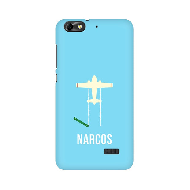 Huawei Honor 4C Narcos TV Series  Minimal Fan Art Phone Cover & Case