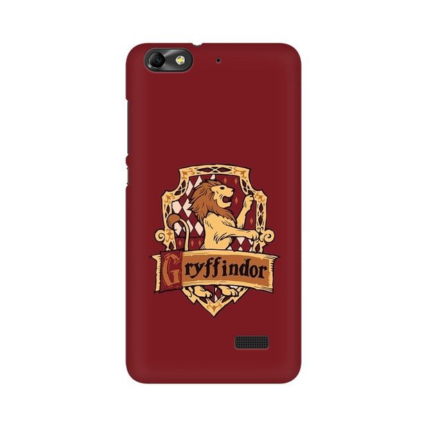 Huawei Honor 4C Gryffindor House Crest Harry Potter Phone Cover & Case